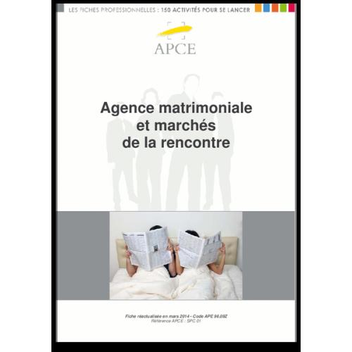 Agence matrimoniale et marchés de la rencontre