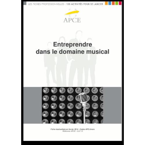 Entreprendre dans le domaine musical