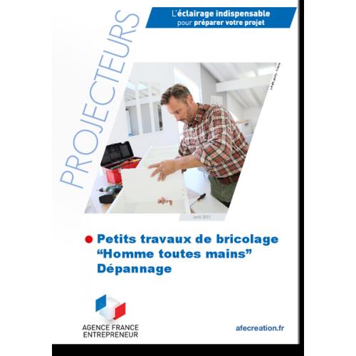 """Petits travaux de bricolage, """"hommes toutes mains"""", dépannage (Extrait pdf)"""