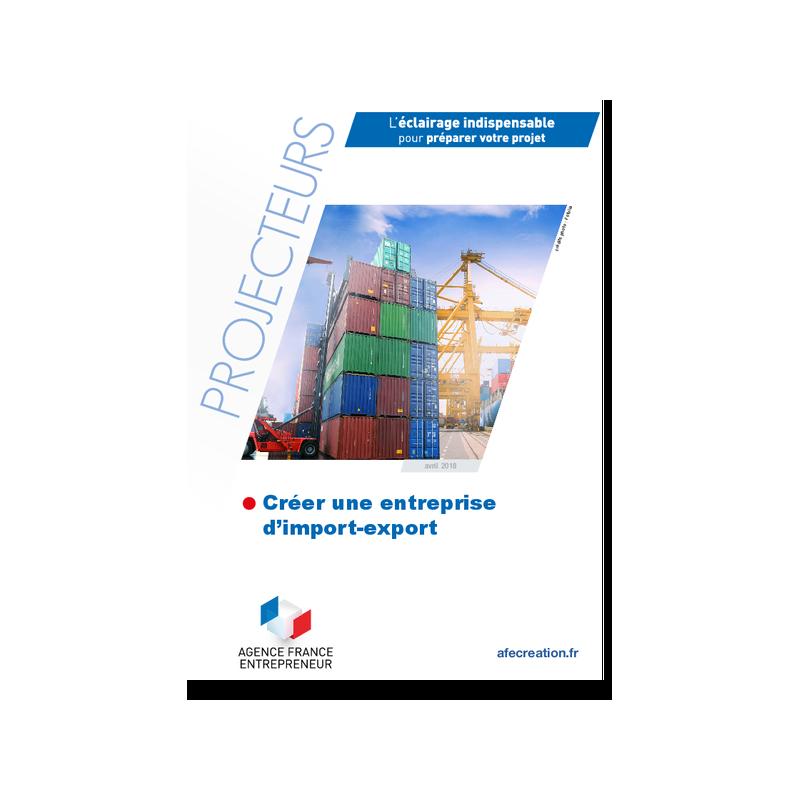 Créer une entreprise d'import-export (Extrait pdf)